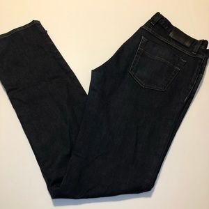 Gucci Men's Straight Leg Dark Wash Jeans